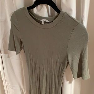 Charlotte Russe Fitted T-Shirt Dress